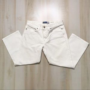 OLD NAVY Stretch Jeans in White Size 6